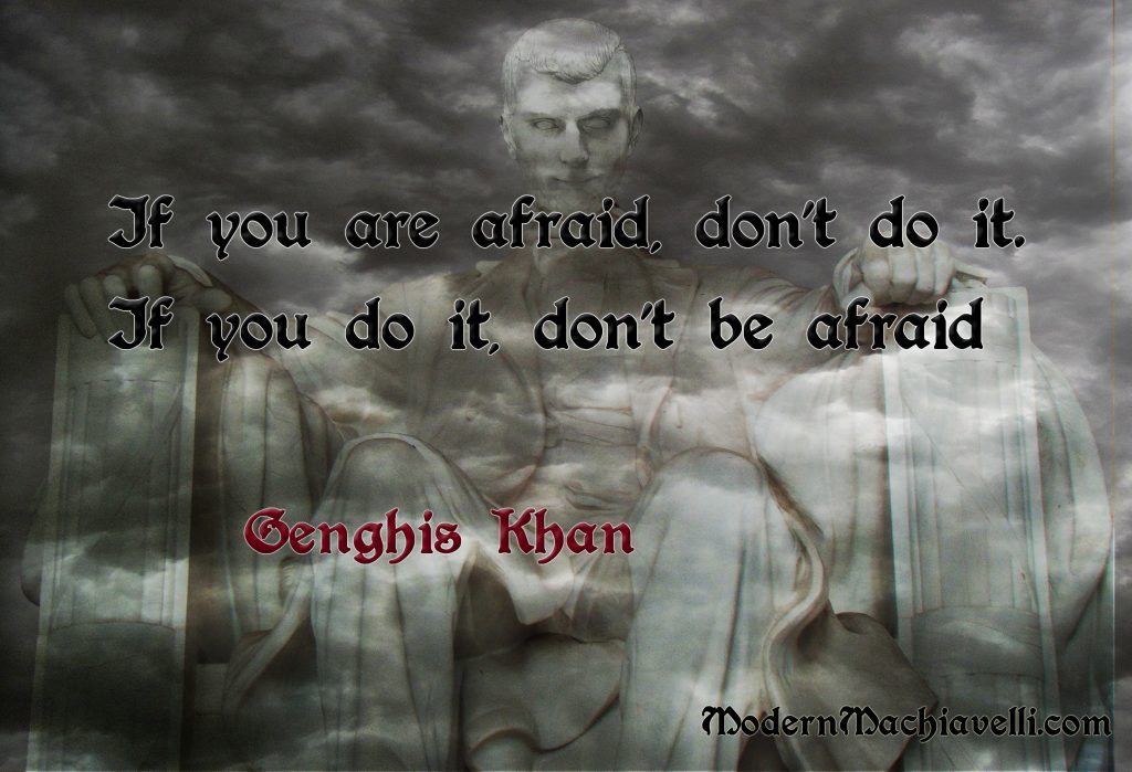 Genghis Khan Quote